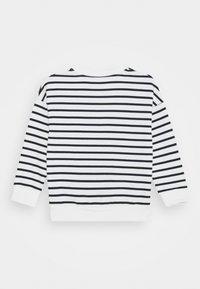 Petit Bateau - LOUFOQUE UNISEX - Sweatshirt - marshmallow/smoking - 1