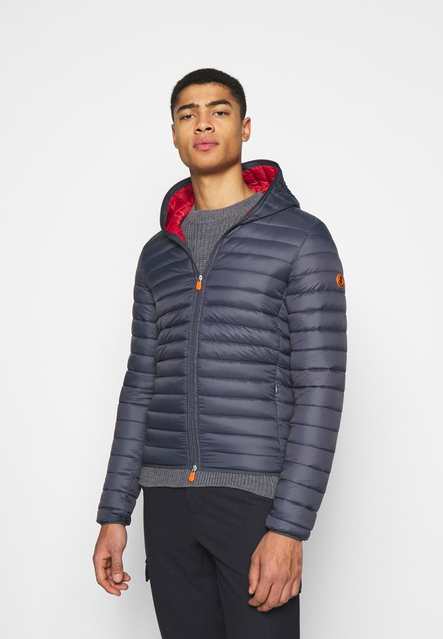 DONALD HOODED JACKET - Jas - ombre blue