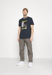 Carhartt WIP - AVIATION PANT COLUMBIA - Cargo trousers - air force grey rinsed - 1