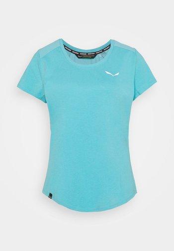 ALPINE - Basic T-shirt - maui blue