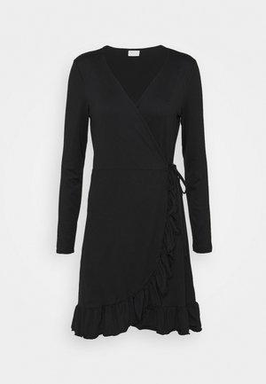 VILINDA DRESS - Jerseykjole - black