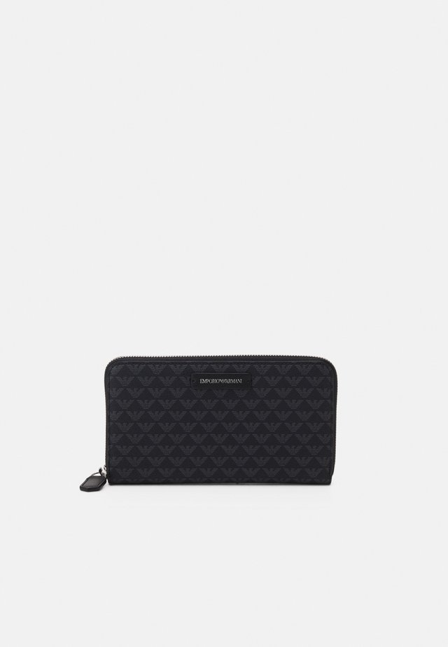FOGLIO ZIP AROUND - Wallet - nero
