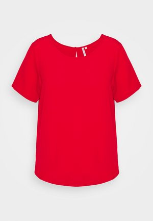 CARLUXMAJA SOLID - Blouse - mars red