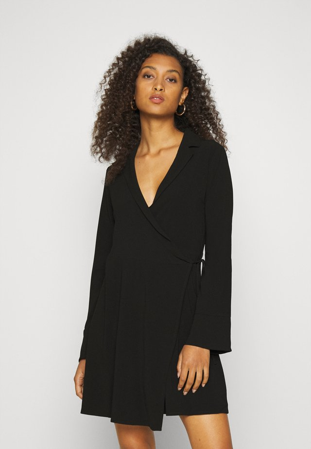 SOFT BLAZER DRESS - Day dress - black