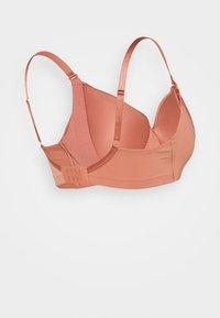 Lindex - NURSING BRA - T-shirt bra - dark dusty pink - 1