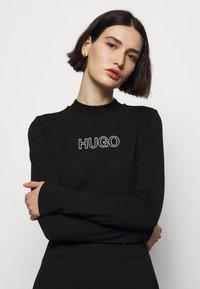 HUGO - DASSY - Jerseyjurk - black - 3
