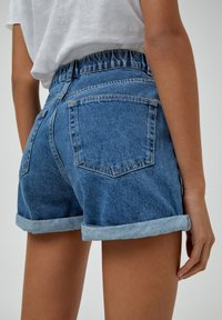 PULL&BEAR - Szorty jeansowe - blue - 5