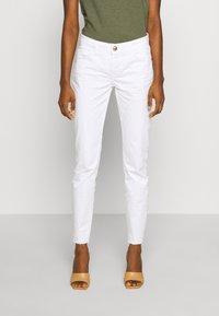 Mos Mosh - SUMNER DECOR PANT - Kalhoty - white - 0