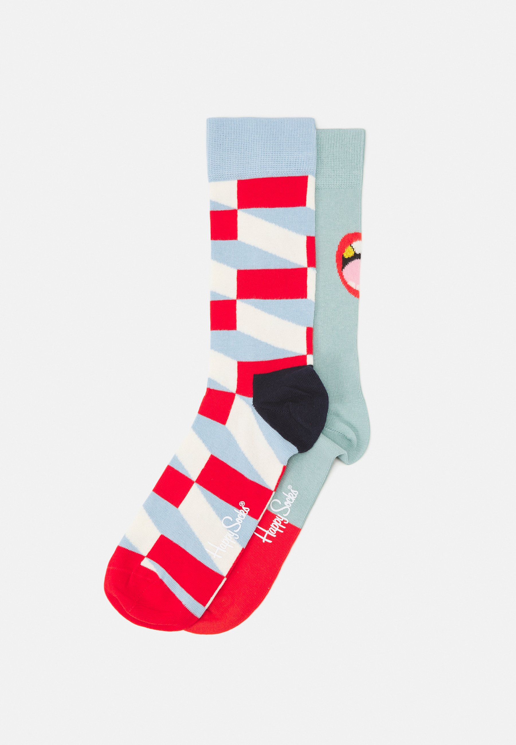 Women WE NEED TO TALK JUMBO FILLED OPTIC 2 PACK UNISEX - Socks