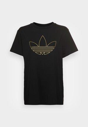 ORIGINALS TREFOIL MOMENTS - Print T-shirt - black