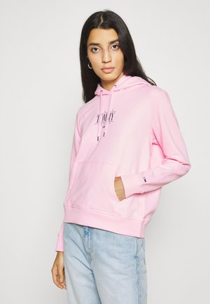 TJW REG ESSENTIAL LOGO - Felpa con cappuccio - romantic pink
