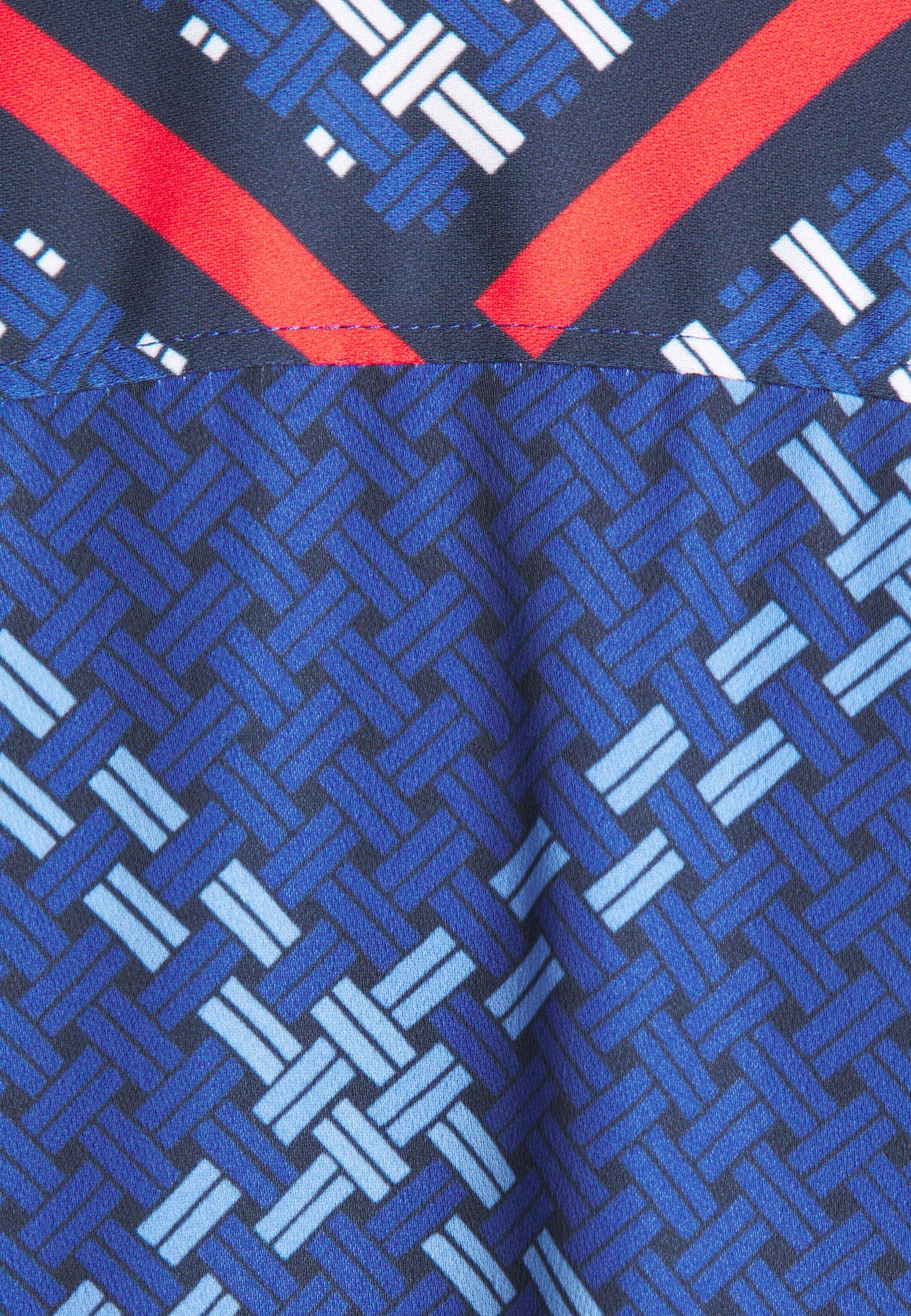 GANT SIGNATURE WEAVE PLISSE DRESS Blusenkleid crisp blue/blau