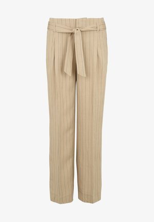 HOSE CISOFIE - Trousers - beige
