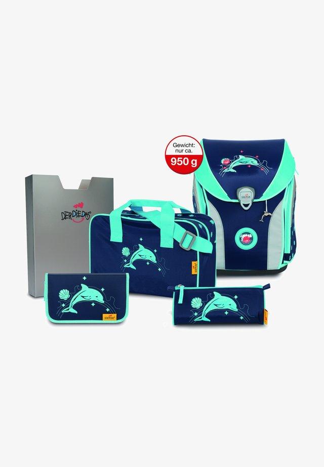 Set zainetto - glitter dolphin