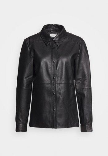 KABASMA - Button-down blouse - black deep