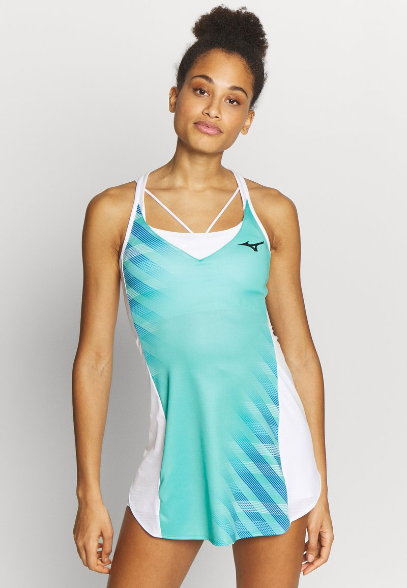 Mizuno - PRINTED DRESS - Jersey dress - atlantis