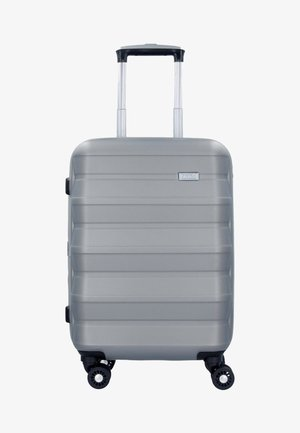 PILE  - Wheeled suitcase - silver