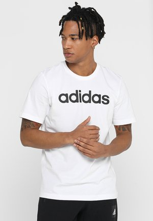 LIN TEE - T-shirt print - white/black
