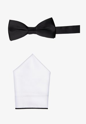 ONSTED BOW TIE SET - Taskuliina - black