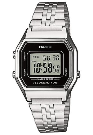 LA680WEA-1EF - Digital watch - silberfarben