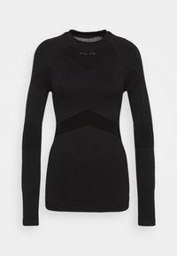 NU-IN - COMPRESSION  - Bluzka z długim rękawem - black - 4