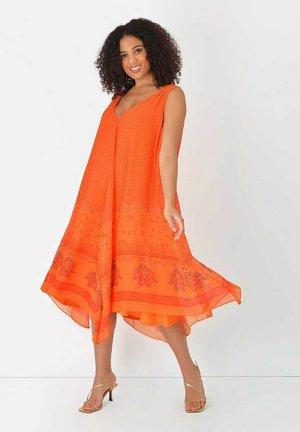 HANKY  - Day dress - orange