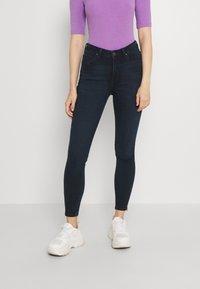 Lee - SCARLETT HIGH ZIP - Jeans Skinny Fit - dark lea - 0