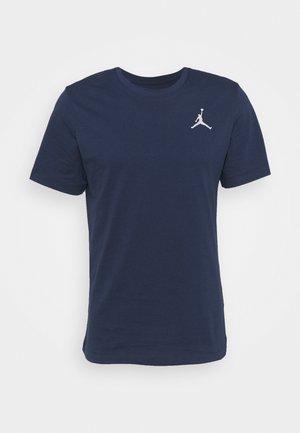 JUMPMAN CREW - Basic T-shirt - midnight navy/white