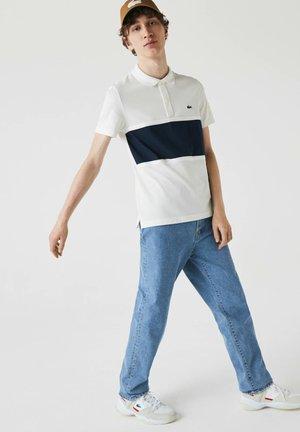 Polo shirt - blanc / bleu