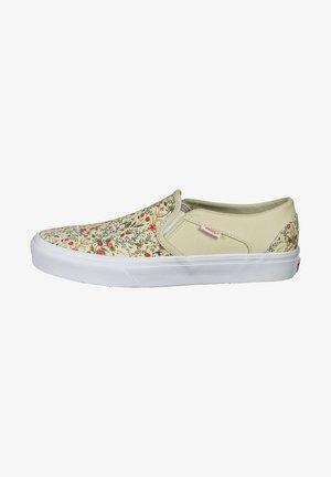 ASHER - Sneakersy niskie - turtle dove / white