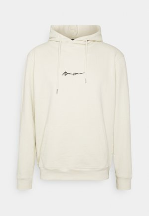 ESSENTIAL SIGNATURE HOODIE UNISEX - Hoodie - pale green
