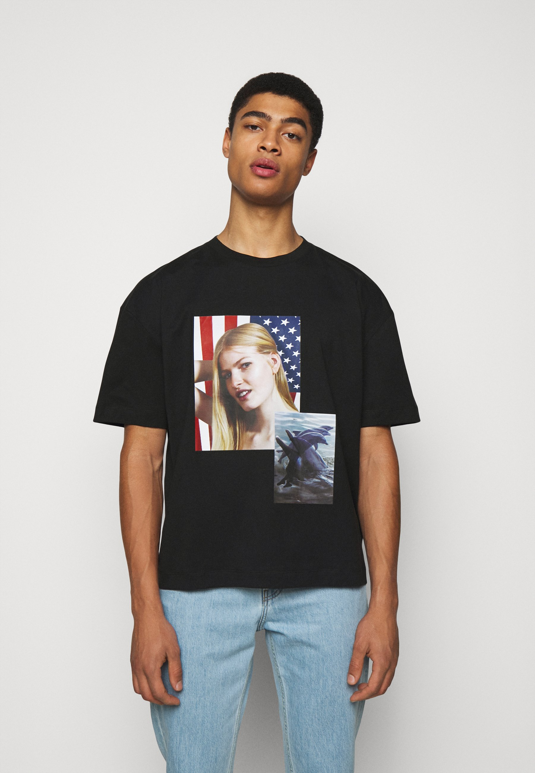 Women SPIRIT DOUBLE DOLPHIN ROE ETHRIDGE - Print T-shirt