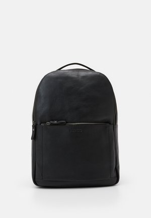 UNISEX LEATHER - Sac à dos - black
