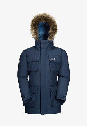 Down jacket - dark indigo
