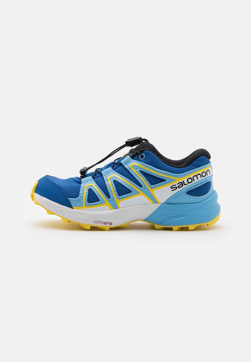 Salomon - SPEEDCROSS UNISEX - Hiking shoes - turkish sea/little boy blue/lemon zest