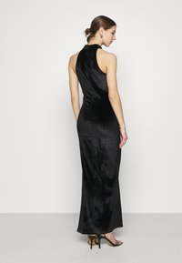 Nly by Nelly - DRAPY HIGHNECK GOWN - Occasion wear - black - 2