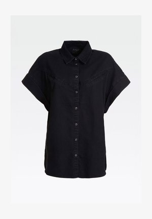 Button-down blouse - noir