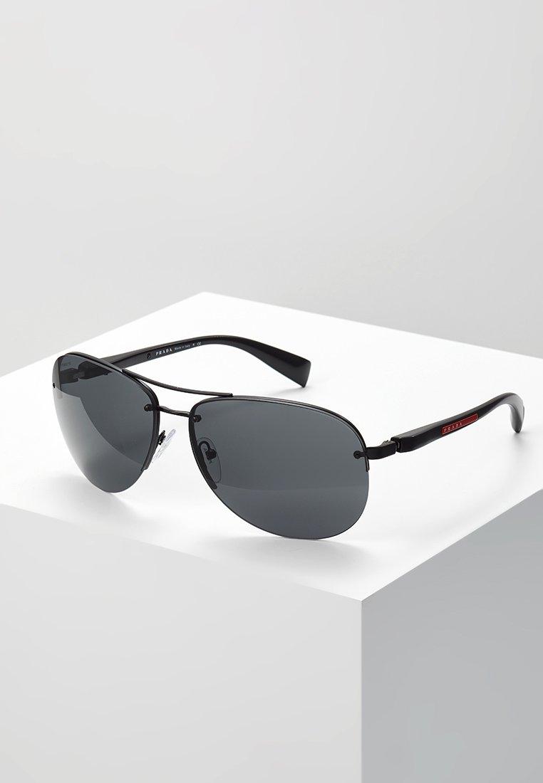Prada Linea Rossa - Solglasögon - black