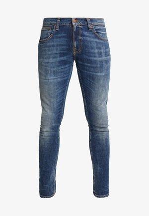 TIGHT TERRY - Jeansy Slim Fit - dark blue denim
