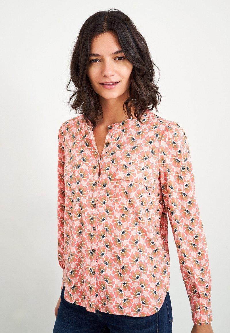 White Stuff - Button-down blouse - pink mehrfarbig