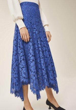 A-line skirt - blue bell