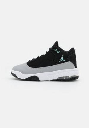 MAX AURA 2 UNISEX - Basketballschuh - black/tropical twist/light smoke grey/white