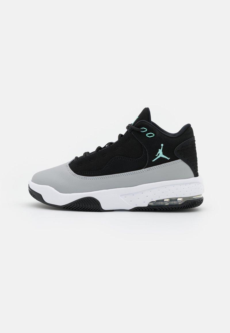 Jordan - MAX AURA 2 UNISEX - Basketball shoes - black/tropical twist/light smoke grey/white