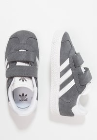 adidas Originals - GAZELLE - Trainers -  dgh solid grey/footwear white - 0