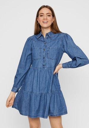 Jeanskjole / cowboykjoler - medium blue denim