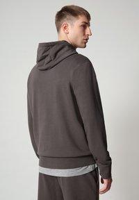 Napapijri - BALLAR  - Hoodie - dark grey solid - 2