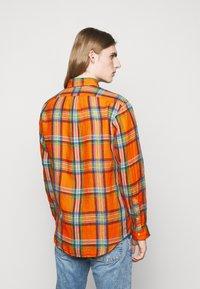 Polo Ralph Lauren - PLAID - Shirt - orange/blue - 2