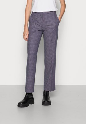 POLLY MICRO CHECK TROUSERS - Tygbyxor - multicolor