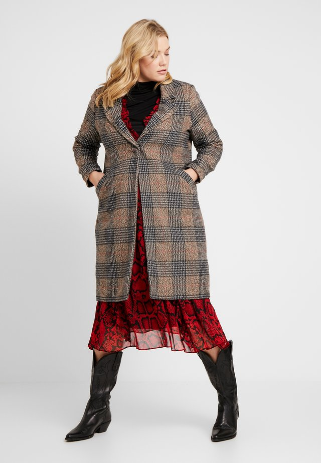 MID LENGTH COAT - Classic coat - brown