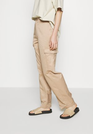 DUNDER TROUSER  - Trousers - sand